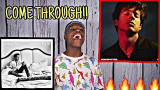 CHARLIE PUTH - VOICENOTES FULL ALBUM REACTION / REVIEW