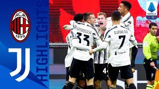 Milan 1-3 Juventus | Goals from Chiesa & McKennie Shock the San Siro! | Serie A TIM