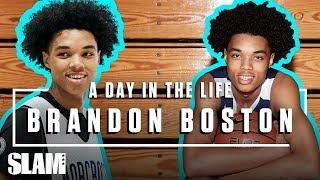 Brandon Boston is a BABY-FACED KILLA 💀  | SLAM Day in the Life