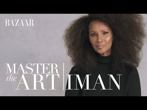 Iman on how to build a successful business | Master the Art | Bazaar UK