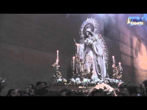 Traslado de la Virgen de las Nieves a Santa María la Blanca