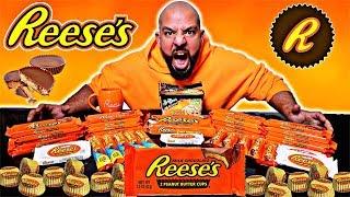 تحدي ١٥،٠٠٠ سعرة من الريسيس 🍫 Reese's 15,000 Calorie Challenge