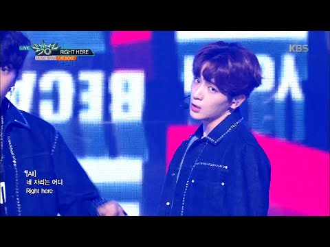 뮤직뱅크 Music Bank - RIGHT HERE - THE BOYZ.20180928