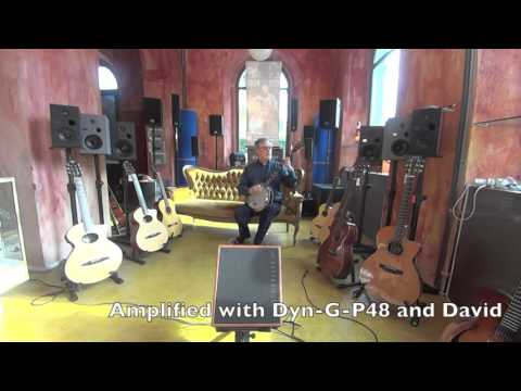 DYN G P48 on a Banjo with the New DAVID by Nino Frasio
