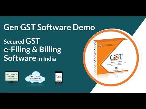 Gen GST Software Features