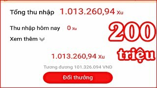 Ứng Dụng Kiếm 200 Triệu Trên Điện Thoại | Kiếm Tiền Online