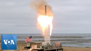 US Tests Cruise Missile After INF Treaty Exit