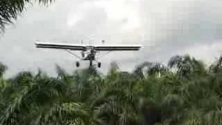 Aterrizaje de un ultraligero