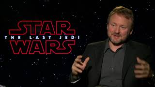 Star Wars: The Last Jedi ||  Rian Johnson Junket Interview || SocialNews.XYZ