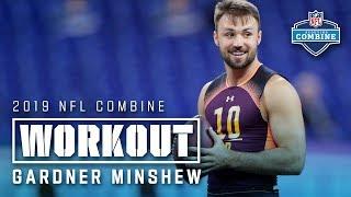 Gardner Minshew's 2019 NFL Combine Workout