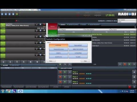 Setting up RadioDJ with Altacast Standalone