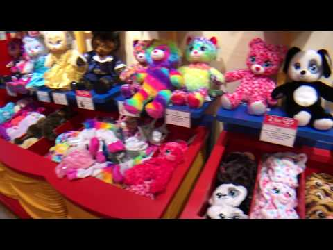 Kids Fun at Build A Bear Workshop 2018