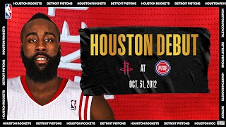 James Harden's Debut For The Rockets | #NBATogetherLive Classic Game