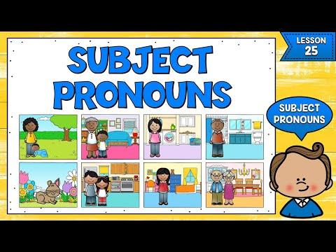 LECCIÓN 25: PRONOMBRES PERSONALES EN INGLÉS - PRÁCTICA   SUBJECT PRONOUNS IN ENGLISH