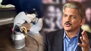 Anand Mahindra shares video of tractor being used to milk ..