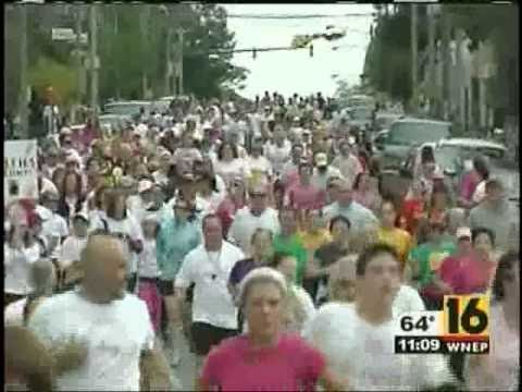 WNEP - 2010 NEPA Race for the Cure with Advanced Imaging Specialists' Dr. John Farrell