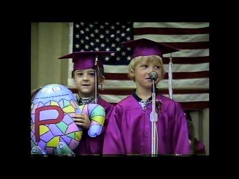 MES K Graduation 6-14-00