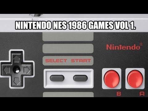 NINTENDO NES 1986 GAMES VOL 1
