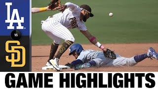 Dodgers clinch postseason berth in a 7-5 win | Dodgers-Padres Game Highlights 9/16/20