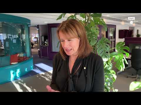 Kristina Sundin Jonsson informerar om det aktuella läget, onsdag 21 oktober