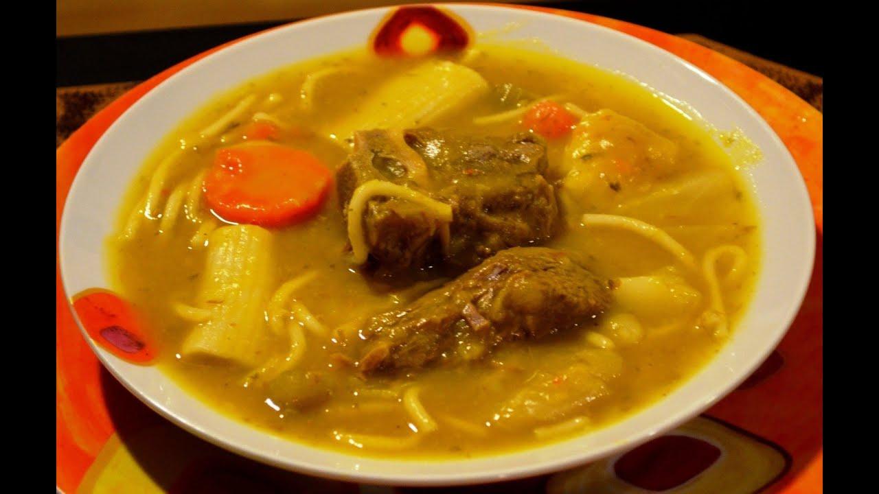 Soupe Au Giraumon Joumou Soup Youtube