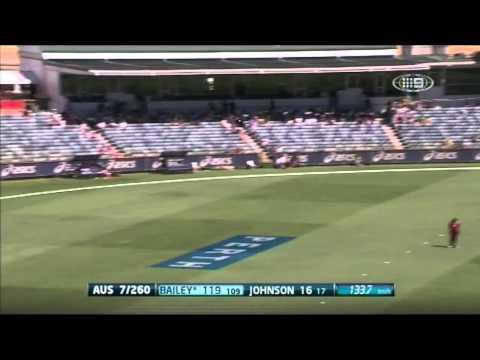 2nd ODI AUS v WI - Match Wrap