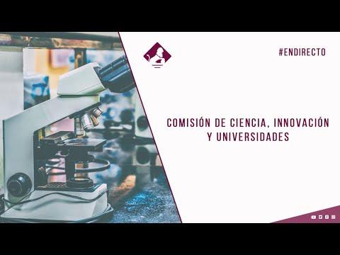 Comisión de Ciencia, Innovación y Universidades (05/11/2020)