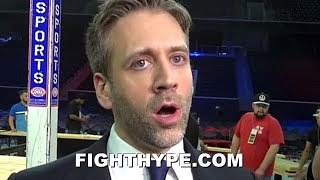 "MAX KELLERMAN BREAKS DOWN SPENCE VS. GARCIA; EXPLAINS WHY ""KILLER ROBOT"" MIKEY HAS REAL CHANCE"