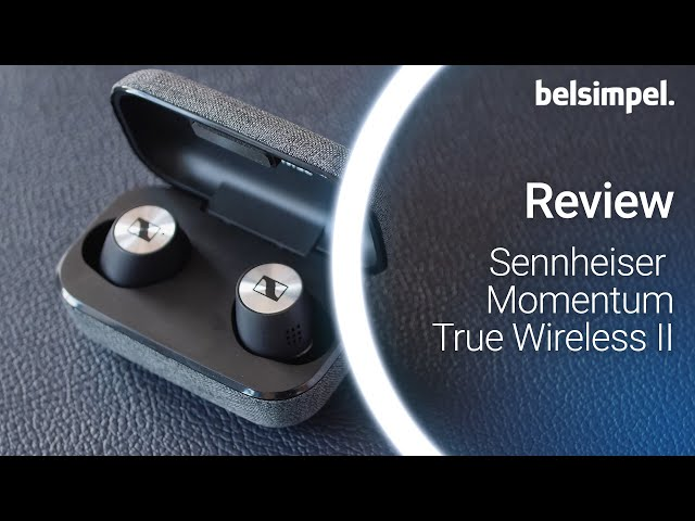 Belsimpel-productvideo voor de Sennheiser Momentum True Wireless II Black