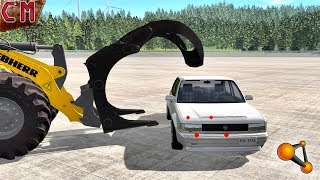 Car dismantling on spare parts (Disassemble, take to pieces) BeamNG Drive
