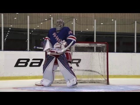 Machine vs Machine: Henrik Lundqvist 1S OD1N- Rebound Control