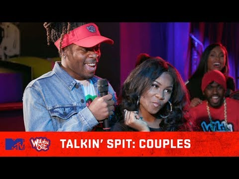 This Couple Avoids Spitting At All Costs! 💦 | Wild 'N Out | #TalkinSpit