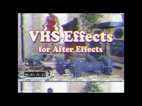 Vhs Effect Premiere Adobe Manual - xilusram