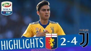 Genoa - Juventus 2-4 - Highlights - Giornata 2 - Serie A TIM 2017/18