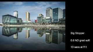 Urban landscape photography shoot at Salford Quays
