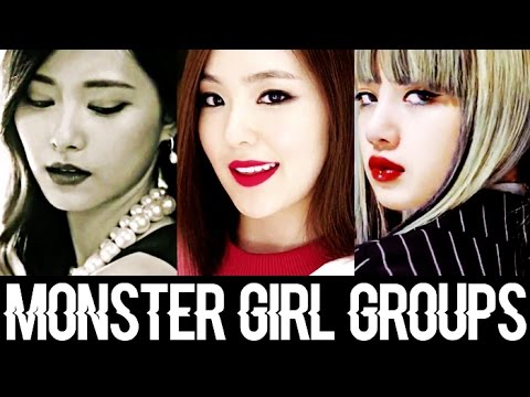 4 Kpop Monster Girl Groups (New Generation)
