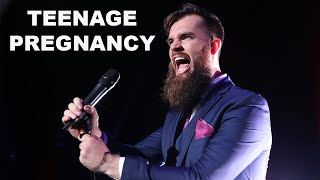 Aussie Comedian Isaac Butterfield On Teenage Pregnancy
