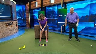 School of Golf: Aim Properly with Putter | Golf Channel