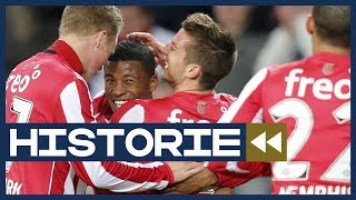 HISTORIE | PSV maakt gehakt van ADO: 7-0