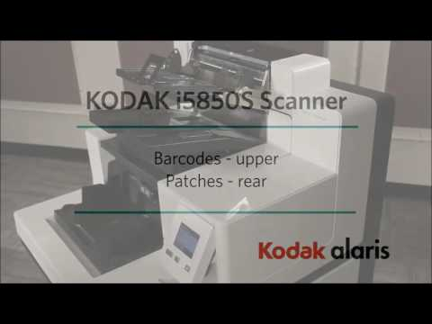 Using the i5850S Scanner from Kodak Alaris (Part 2) Preview
