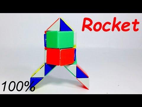 Rubik's Twist 40 Tutorial 40 Snail Heart 40 Rocket Musical Delectable Rubik's Snake Patterns