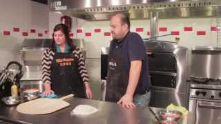 The Pizza Kitchen - How to make Cheeseburger Pizza