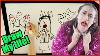 DRAW MY LIFE: MIRANDA SINGS!