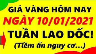 Giá Vàng Hôm Nay Ngày 10/01/2021 - Giá Vàng 9999 Tuần Lao Dốc!