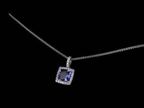 Browns Family Jewellers Tanzanite Necklace