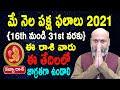May Rasi Phalalu   16th May to 31st May   Kanya Rashi 2021   Nanaji Patnaik   Pooja Tv Telugu