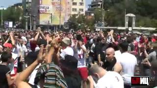 CSKA Sofia, protesta contro la federcalcio/2