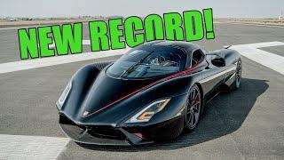 SSC Tuatara Sets NEW WORLD RECORD! Controversy Closed at 282.9mph