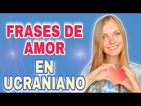Aprende Frases de Amor en Ucraniano - Clase de idioma de Ucrania de curso en español - Cómo Enamorar