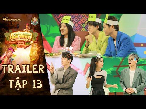 Thiên đường ẩm thực 6 | Trailer Tập 13: Trường Giang toát mồ hôi với màn đẩy đưa của Lynk Lee Fanny
